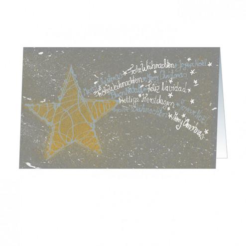 Christmas Star (5455) silbergeprägt