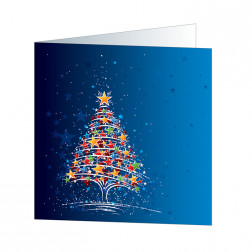 Star Tree, blue (5668)